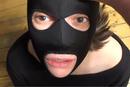 Sklavin Maske Benutzung